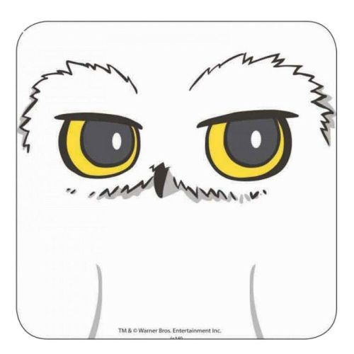 Harry Potter Hedwig Owl Single Coaster Drinks Mat